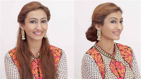 hairstyles  indian wedding occasions day  night