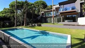 Vente Villa D U0026 39 Exception Contemporaine Cannes