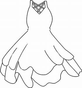 White Dress Clip Art at Clker.com - vector clip art online ...