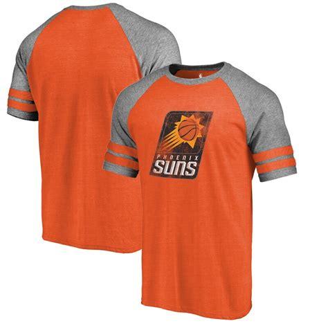 NBA Phoenix Suns Fanatics Branded Distressed Logo Raglan ...