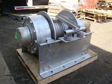 dp manufacturing hydraulic winch 55 000 lb capacity 51882 r ebay