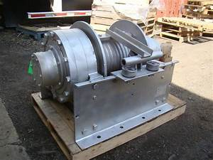 Dp Manufacturing Hydraulic Winch 55 000 Lb Capacity Model
