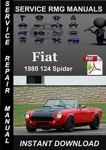 1980 Fiat 124 Spider Service Repair Manual Download