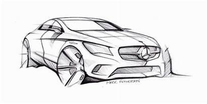 Mercedes Benz Sketch Cla Class Sketches Lots