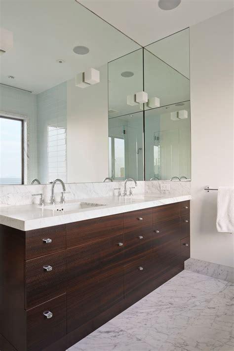 bathroom mirror ideas   double vanity contemporist