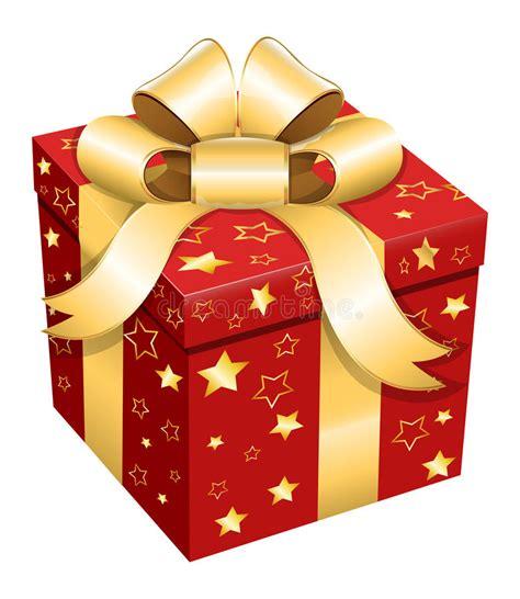 gift box christmas vector illustration stock vector
