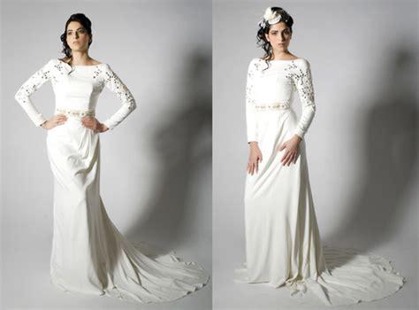 Long Sleeve Wedding Dresses Are Back
