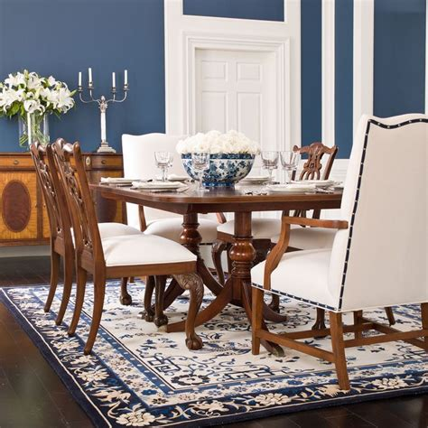 abbott dining table ethan allen us dining room