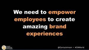 We need to empower employees