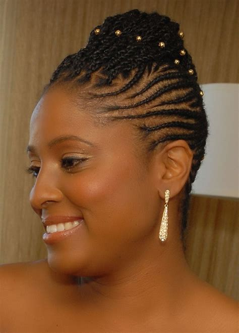 Twisted Hairstyles For by 15 Photo Of Braided Updo Hairstyles For Black