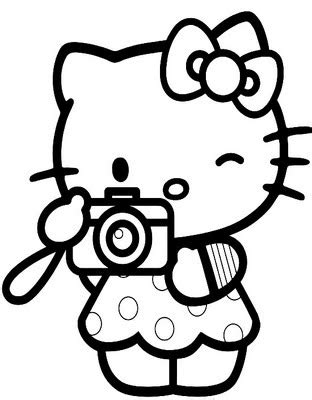 Hello Kitty Valentines Day Coloring Pages Best Gift