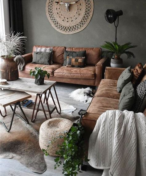 home decorating ideas cozy earthycolors
