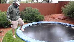 In Ground Trampolin : in ground trampoline during flash flood youtube ~ Orissabook.com Haus und Dekorationen
