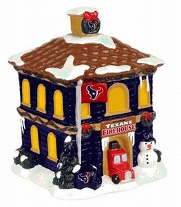 Houston Texans Holiday Village Firehouse