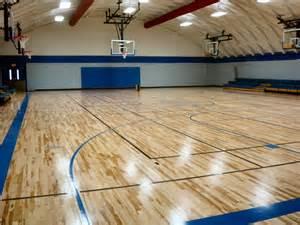 High School Gym Floor