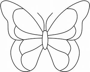 butterfly birthday cake template printable - butterfly patterns printable template free
