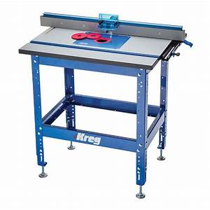 Kreg Complete Precision Router Table Rockler Woodworking
