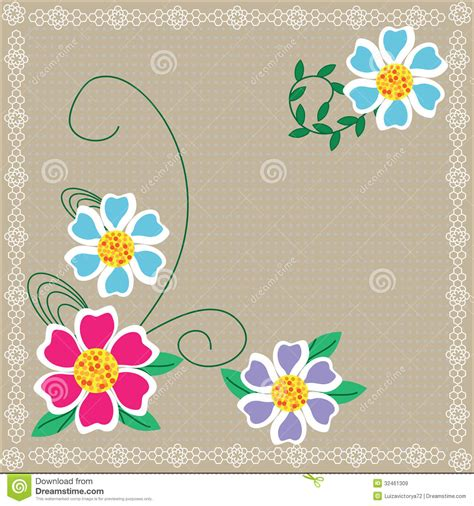 cute floral background   design cover pre royalty