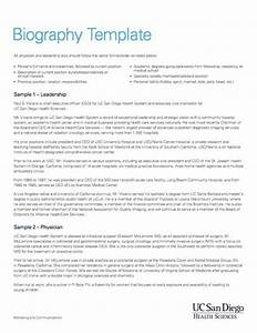 45 free biography templates examples personal With template for writing a biography