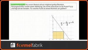 Steuerklasse 1 Abzüge Berechnen : extremwertaufgabe rechteck aus einem dreieck ausschneiden youtube ~ Themetempest.com Abrechnung