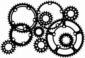 Gears, Silhouette and Gear tattoo on Pinterest