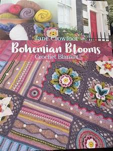Bohemian Blooms Crochet Pattern Book By Jane Crowfoot With