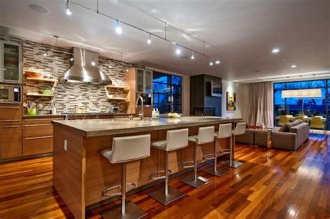 id馥s cuisine ouverte la cuisine avec ilot cuisine bien structurée et fonctionnelle