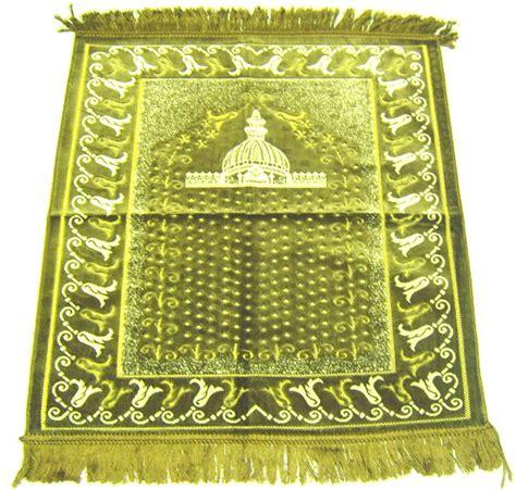 tapis de priere islam tapis de pri 232 re en velours deux places pour enfants objet de d 233 coration ou oeuvre artisanale
