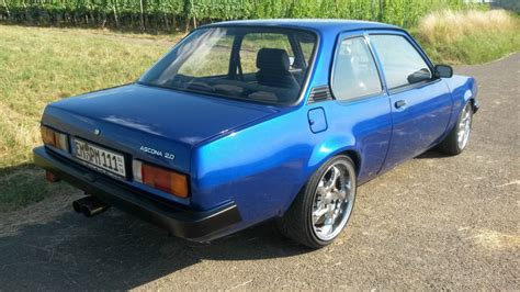 Opel Ascona For Sale by Opel Ascona B 3 0 Tuning For Sale