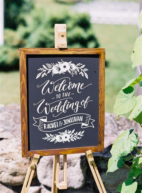 20 Chic Rustic Chalkboard Wedding Sign Ideas Page 2 Of 2