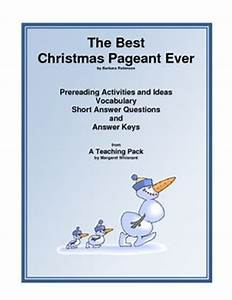 The Best Christmas Pageant Ever A Teaching Packet A Free