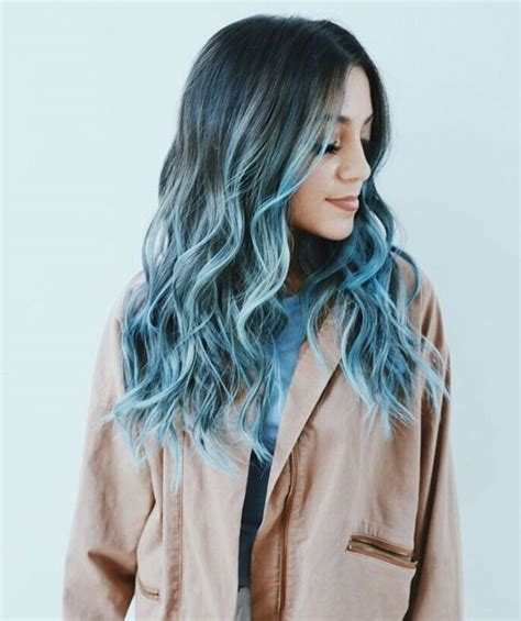 Pastel Colors Modernistic Style by 25 Pastel Blue Hair Color Ideas Hair Options To Try In