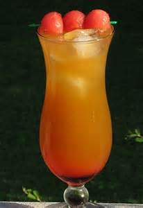 Orange Pucker Watermelon Vodka Drinks