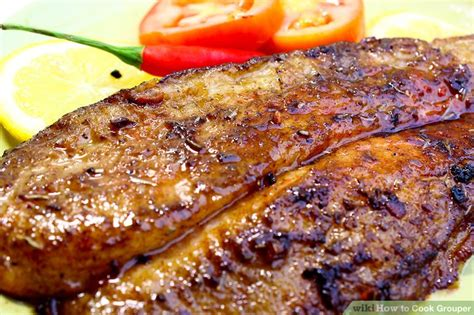 grouper cook wikihow fish step
