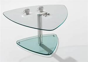 Table Basse Metal Verre : acheter votre table basse contemporaine dessus verre pied m tal chez simeuble ~ Mglfilm.com Idées de Décoration