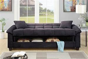 Easton adjustable sofa with storage sofas living room for Adjustable sectional sofa bed with storage