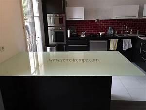 Dessus De Table En Verre : verre tremp sur mesure prix verre tremp sur mesure ~ Dailycaller-alerts.com Idées de Décoration