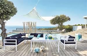 Salon De Jardin Terrasse : deco design jardin terrasse ~ Teatrodelosmanantiales.com Idées de Décoration