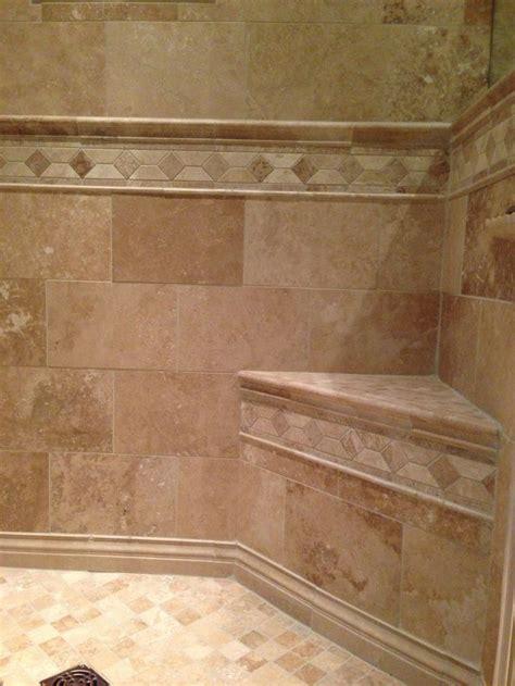 wall tile with border bathroom ideas