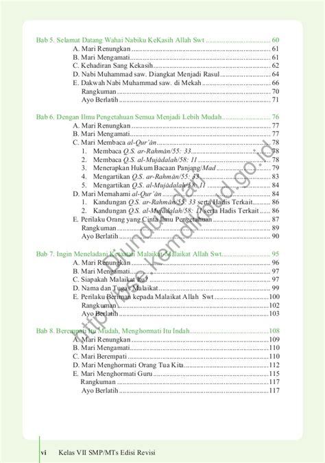 Di semester 1, terdapat 5 tema. 36+ Kunci Jawaban Agama Islam Kelas 8 Kurikulum 2013 ...