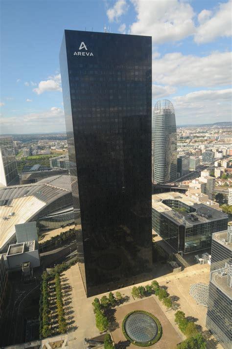 siege social areva le siège parisien viendra bientôt dans la tour areva