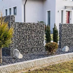 Schnell Wachsender Sichtschutz Immergrün : moderner garten bilder gabionen naturstein ~ Michelbontemps.com Haus und Dekorationen