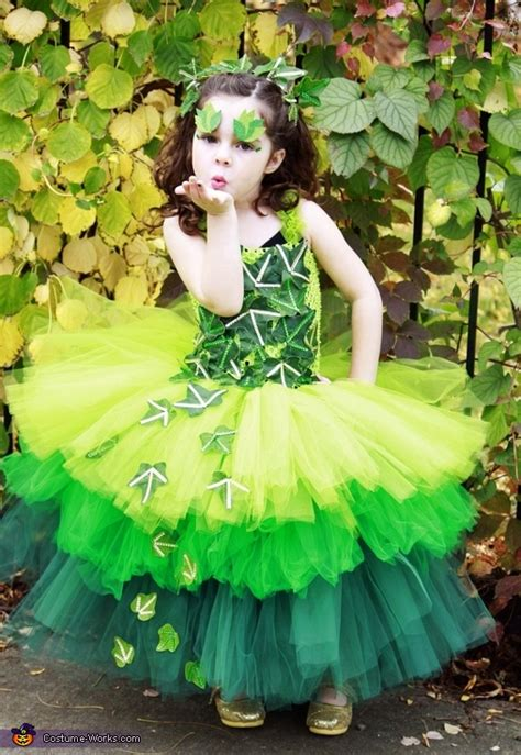 poison ivy costume   girl diy costumes