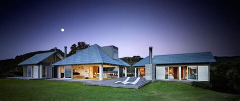 coastal house design separate pavilions architecture home