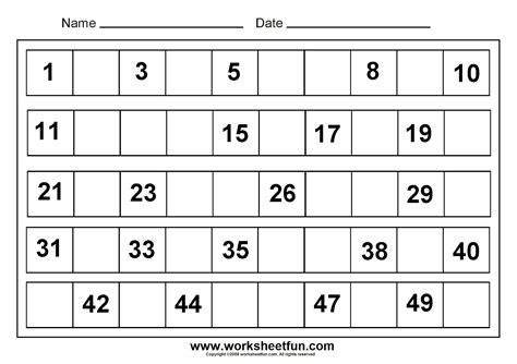 worksheet missing number worksheets for kindergarten