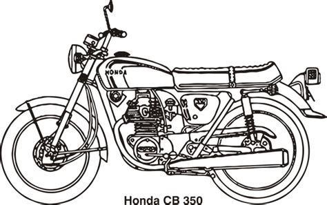 Cb Honda · Free Vector Graphic On Pixabay