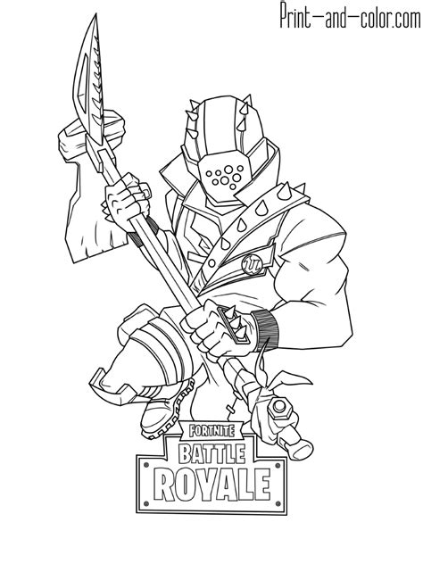 fortnite coloring pages print  colorcom fortnite