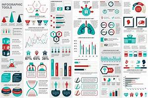 Medical Infographic Elements Data Visualization Vector