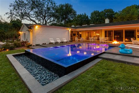 mission hills california contemporary tributary pools spas