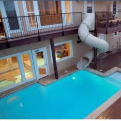 Houses with Indoor Pool and Slides